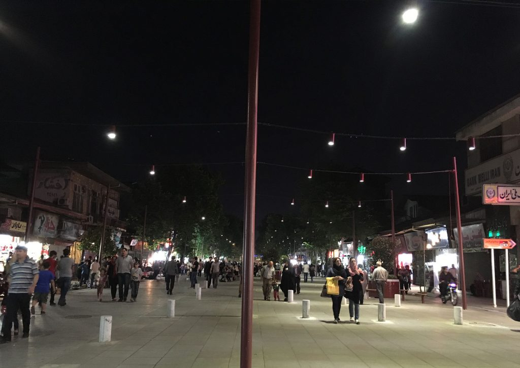 Rasht city lighting